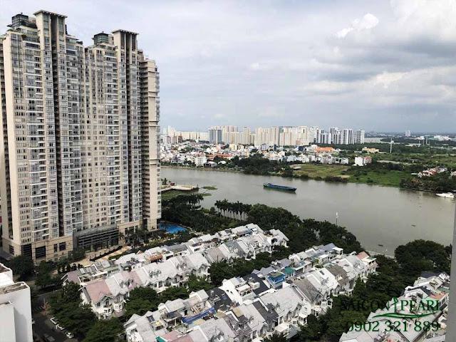 Chung cư Saigon Pearl và khu biệt thự đẳng cấp bên bờ sông Sài Gòn.