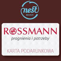 Bon 100 zł do Rossmanna za konto w Nest Banku
