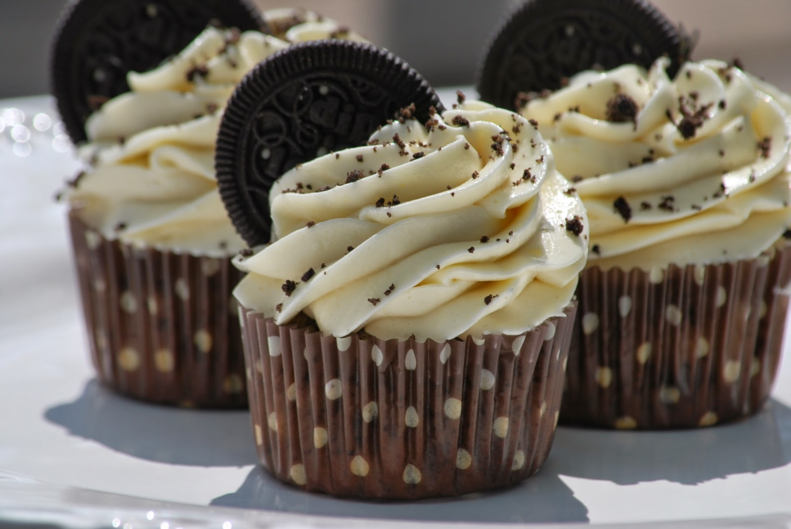 My Story In Recipes: Cookies And Cream Cupcakes