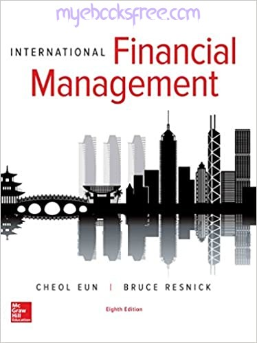 International Financial Management Pdf Book 8e by Eun and Resnick