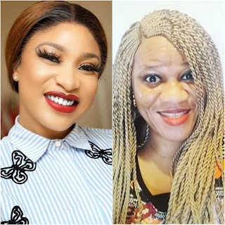 """""""You Beat Up Your Husband's Mother"""" - Stella Drags Tonto Dikeh"""