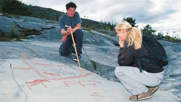 Patrimônios da UNESCO  na Noruega - Inscrições rupestres de Alta