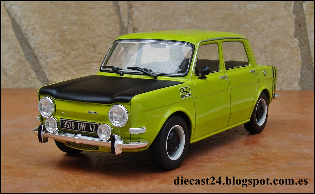 1 24 miniaturas simca 1000 rallye 2 auto vintage de luxe collection hachette 1 24 entrega 18. Black Bedroom Furniture Sets. Home Design Ideas