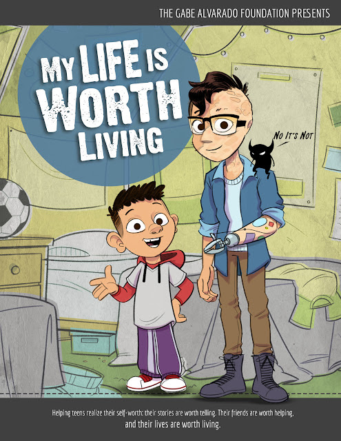 "Wonder Media, the animation studio that produced the ""Protect Yourself Rules,"" sex abuse prevention series for The Barbara Sinatra Children's Center, is beginning production on a new animation series, ""Prevent Teen Suicide: My Life is Worth Living."" The company seeks help to fund the first series of episodes for this important issue. The public can contribute on Indiegogo."