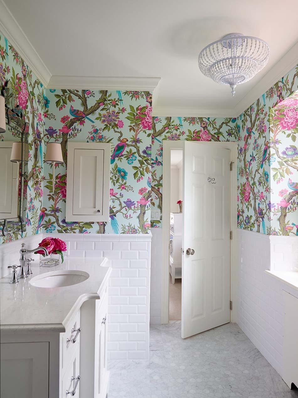 12 Wytapetowanych łazienek W Których Się Zakochasz Piąty