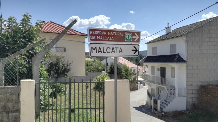 Placas de Sinalização da Serra da malcata