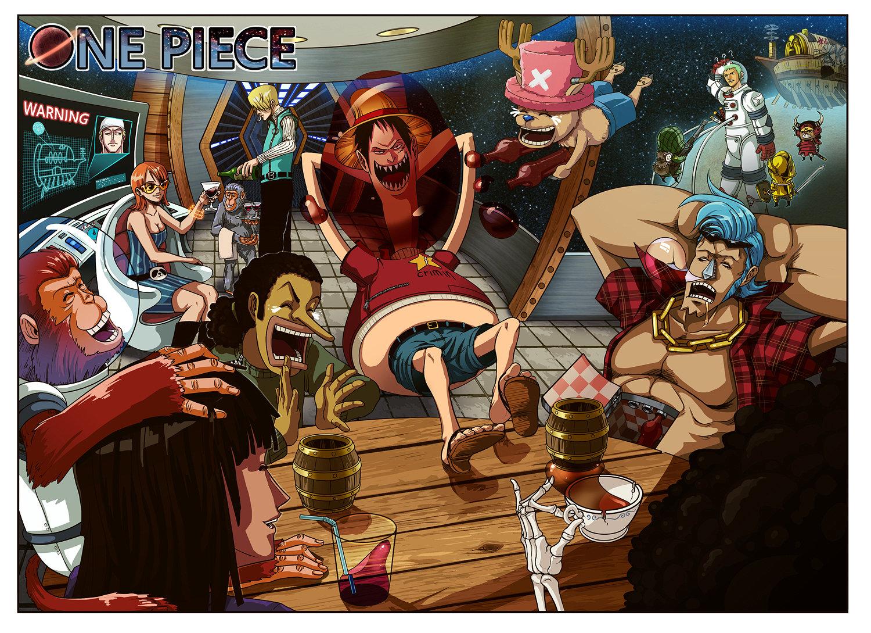 One Piece - straw hat - Fan Art