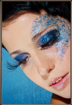 MAKE UP BLUE TRUCCO BLU