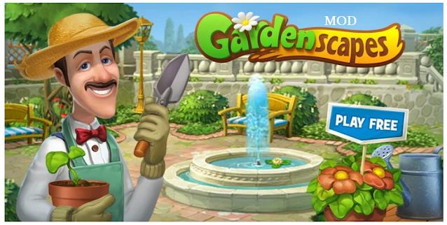 Gardenscapes APK + MOD (Unlimited Stars) v5.6.0