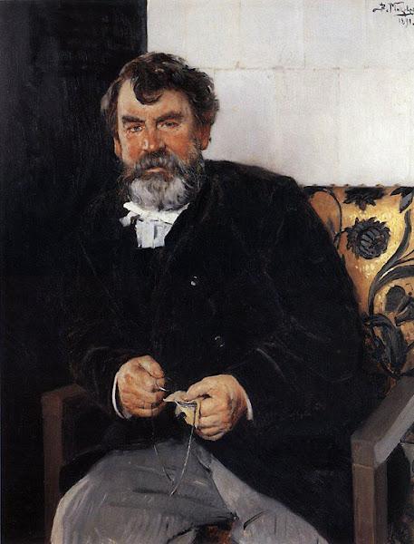 Маковский Владимир Егорович - Портрет Е.С.Сорокина. 1891