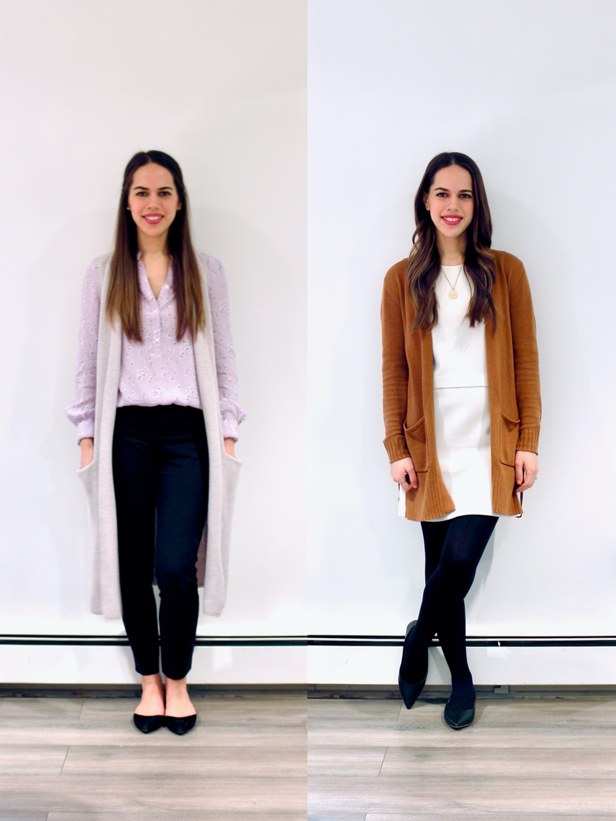 Jules in Flats - March Outfits Week 1 (Business Casual Winter Workwear on a Budget)