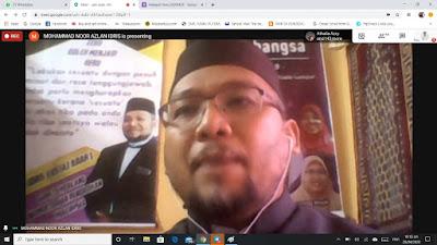 Ustaz Azlan Idris dalam Halaqah Ilmu Kedah 2020