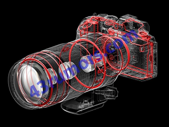 Уплотнители внутри объектива Olympus M.Zuiko Digital ED 100-400mm f/5.0-6.3 IS