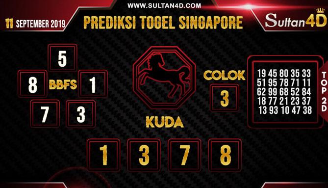 PREDIKSI TOGEL SINGAPORE SULTAN4D 11 SEPTEMBER