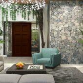 8b Modern Stone House Escape