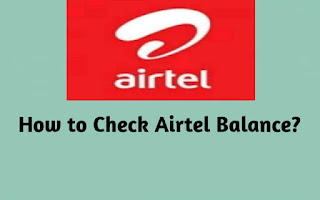 Check Airtel balance, Airtel balance check, Airtel balance check for internet