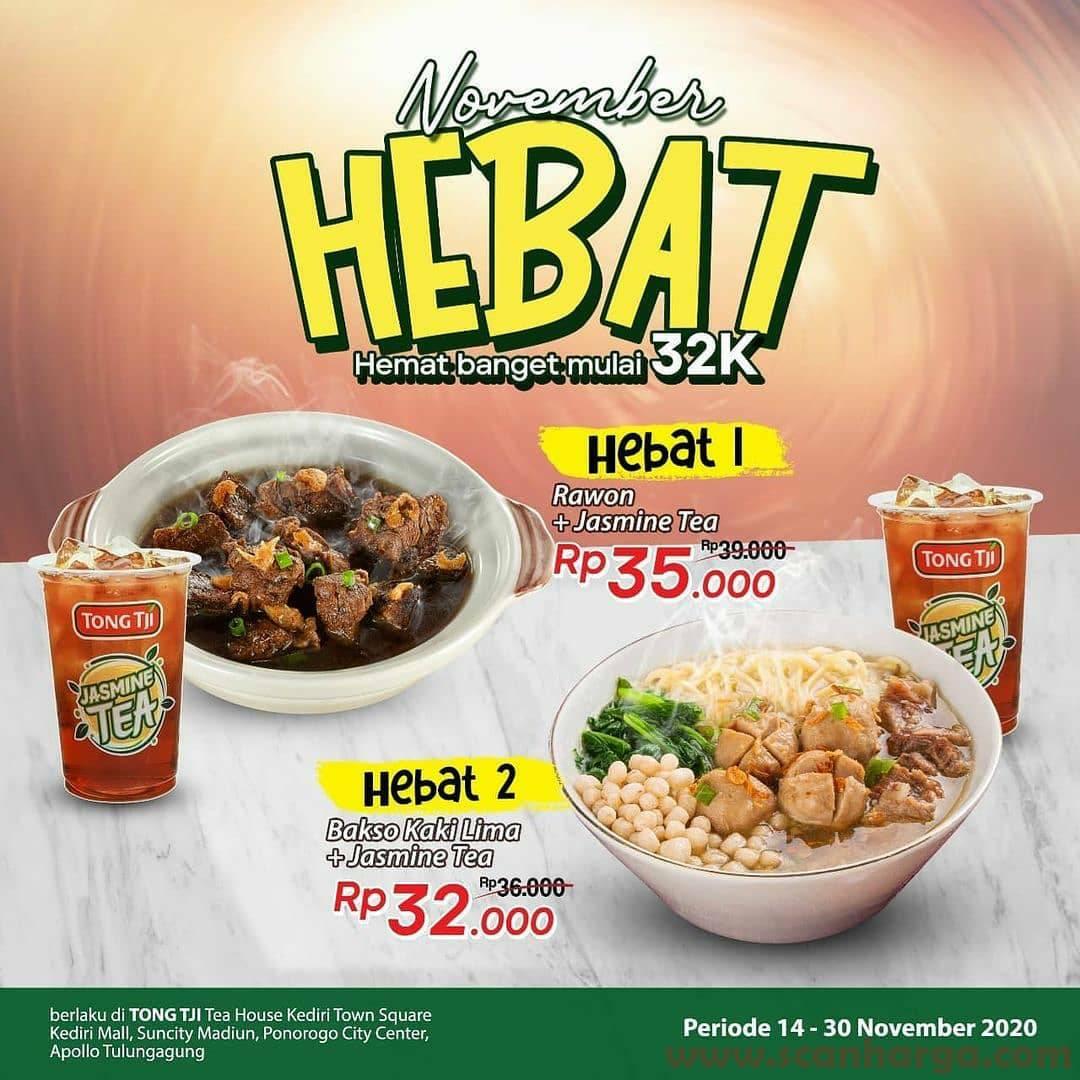 Tong Tji Promo Paket Hebat harga mulai Rp 32.000
