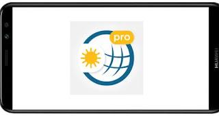 تنزيل برنامج Weather & Radar Pro mod premium مدفوع مهكر بدون اعلانات بأخر اصدار من ميديا فاير