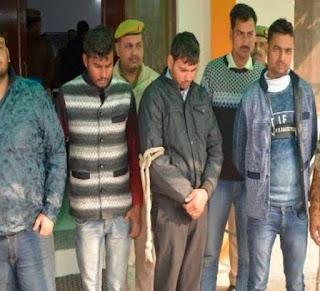 षड्यंत्रकारीयो का पर्दाफाश, अश्लील वीडियो वायरल करने वाले 3 युवक दिल्ली में गिरफ्तार