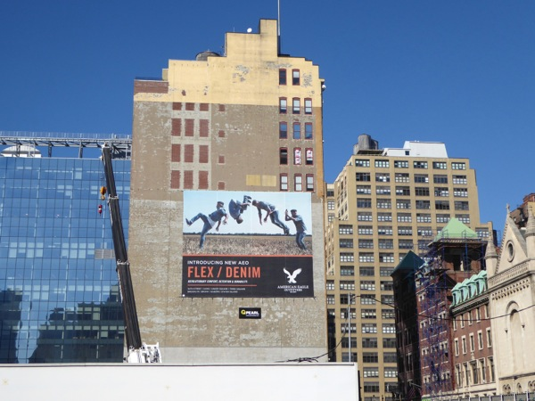 American Eagle Outfitters billboard New York
