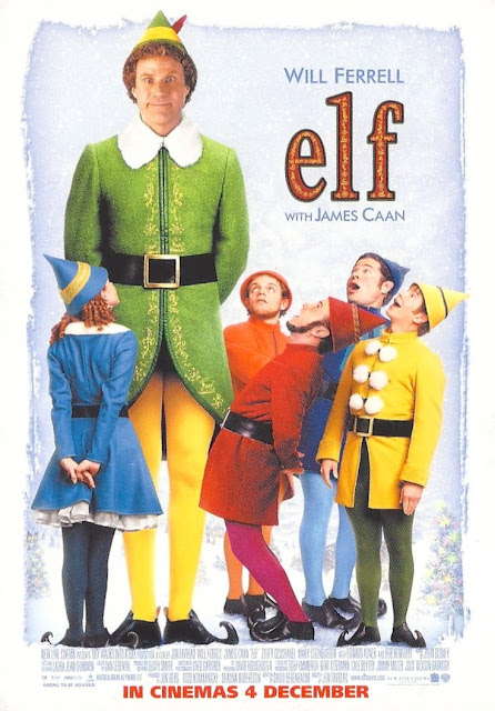 Elf 2003 Will Farrell film poster
