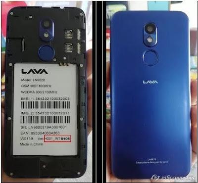 Lava iris 45 LN9820 Frp Bypass File