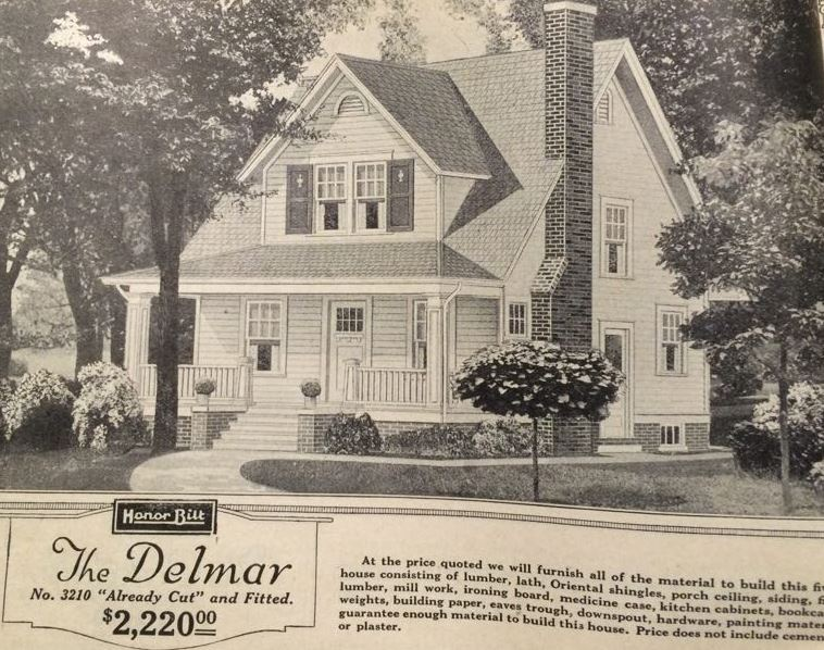 Kit House Hunters Sears Twins The Delmar and the Wayne – Sears Homes Floor Plans