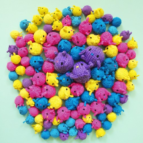 Knit Ball Pit - Free Pattern