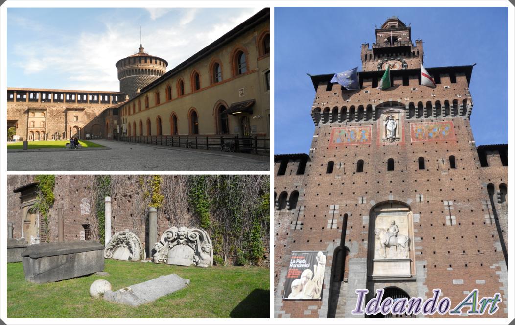 Castello Sforzesco Milán