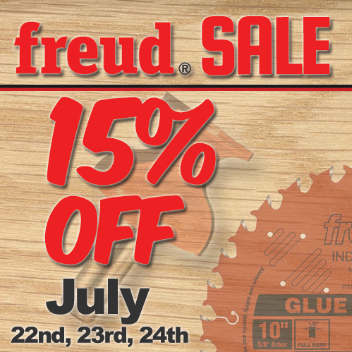 Freud tools, sale, promotions, woodworking