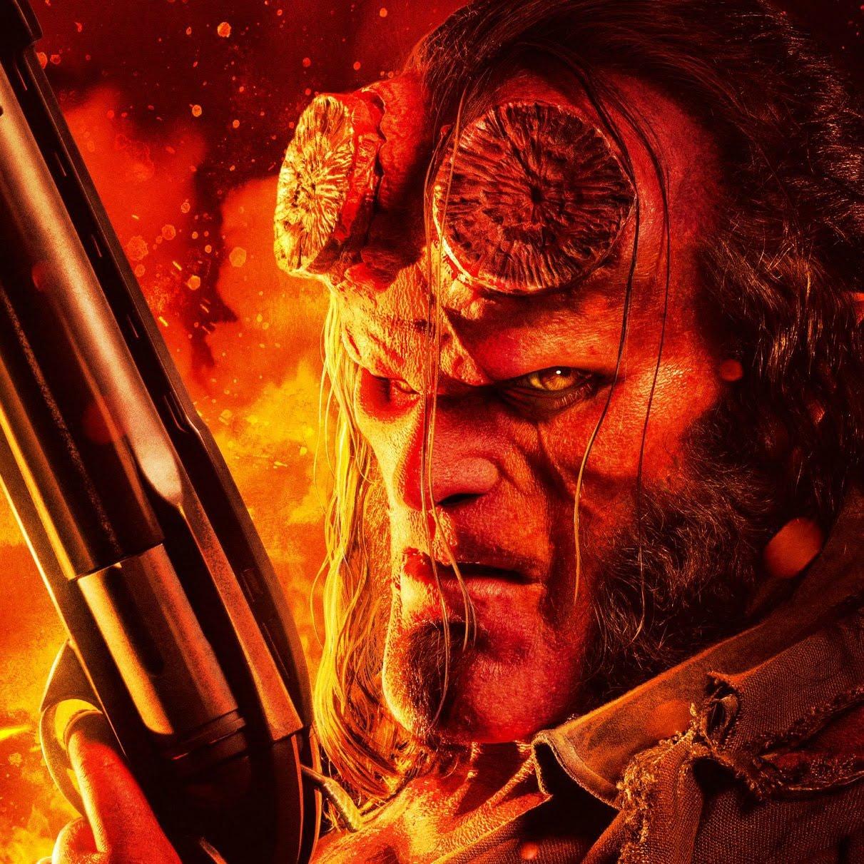 New Posters for Hellboy : 本日このあと、新しい予告編をお楽しみいただく予定の赤い悪魔のアンチ・ヒーロー映画「ヘルボーイ」の新しいポスター ! !