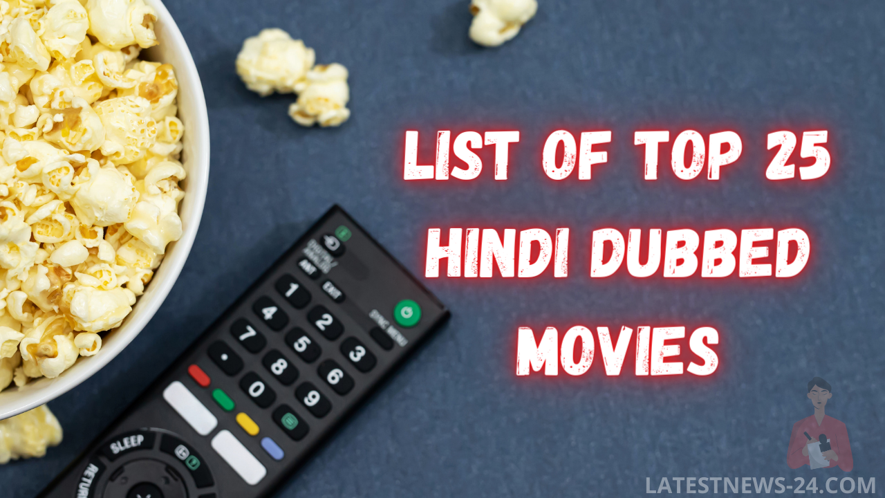 List of Top 25 Index of Hindi Dubbed Movies