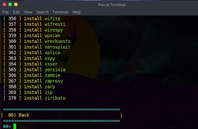 أداة Tool-X الشهيرة الذي تظم بداخلها الكثير من الادوات 370 أداة مهمة