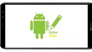 تنزيل برنامج اي بي كي برو APK Editor Pro Mod مدفوع مهكر نسخة اصلية بدون اعلانات بأخر اصدار من ميديا فاير