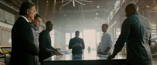 Kurt Russell, Tyrese Gibson, Chris Bridges, Paul Walker, Vin Diesel in Furious 7