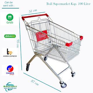Troli belanja minimarket supermarket murah