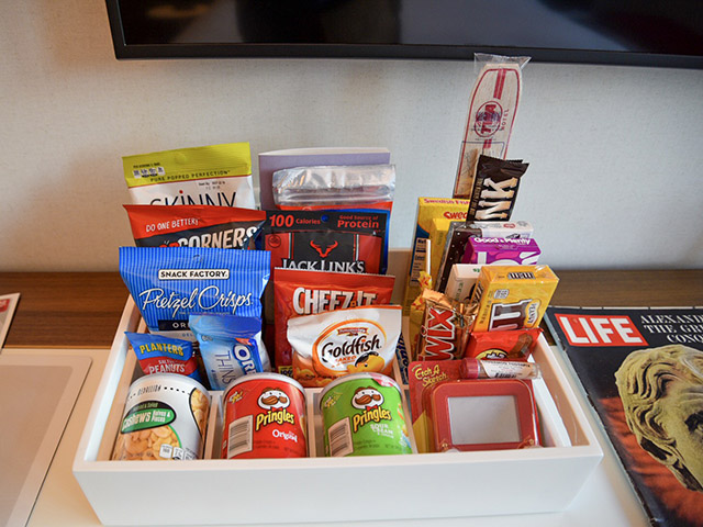 TWA Hotel JFK Minibar Vintage Candy
