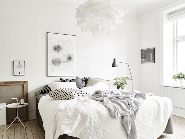 My Scandinavian Home Calm White And Grey In A Swedish