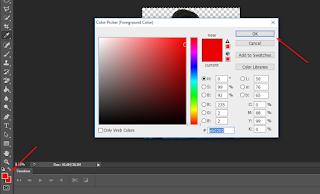 cara mudah mengganti warna background pas poto di photoshop