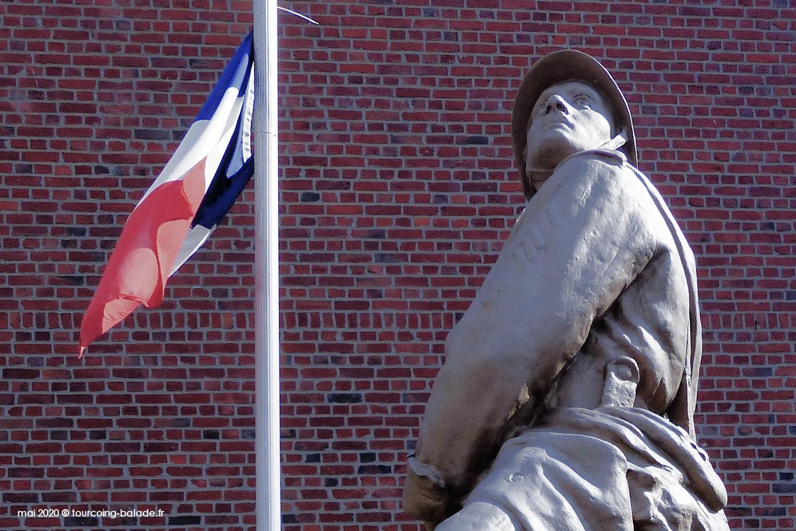 Poilu Grenadier WW1, Templemars 2020
