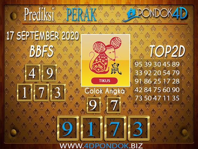 Prediksi Togel PERAK PONDOK4D 17 SEPTEMBER 2020