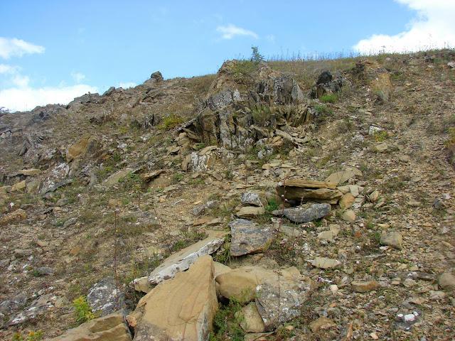 Выходы песчаника на Караби-яйле
