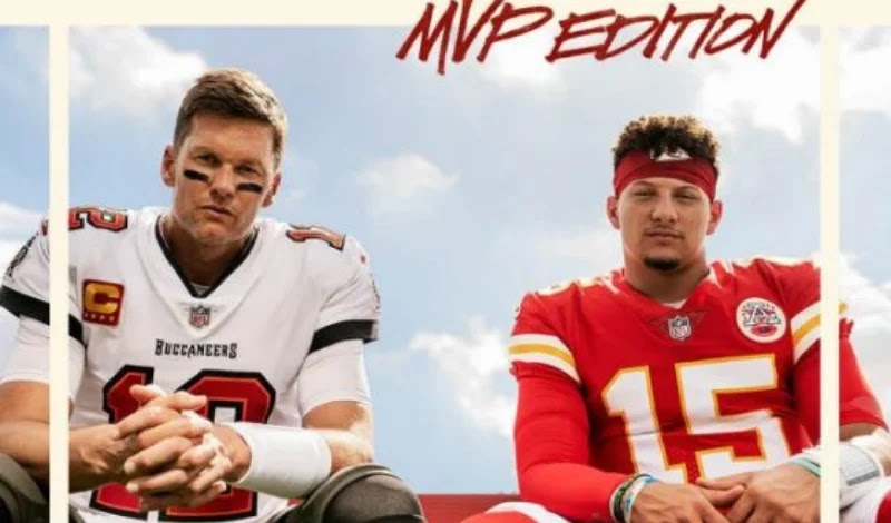 Brady and Mahomes share cover of Madden 22