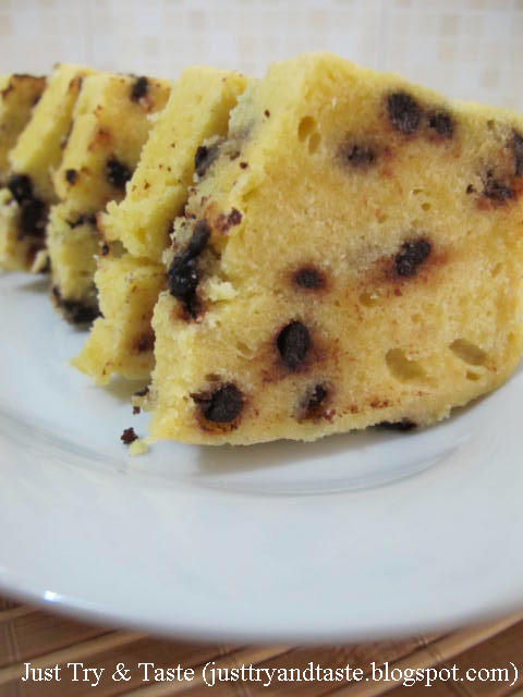 Resep Cake Kukus Tape Singkong & Chocolate Chips JTT