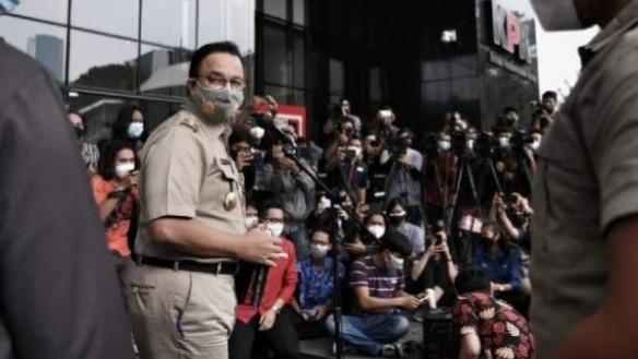 Anies Ngaku Senang Bisa Membantu KPK: Alhamdulillah, Ini Ikhtiar Mendukung Usaha Memerangi Korupsi