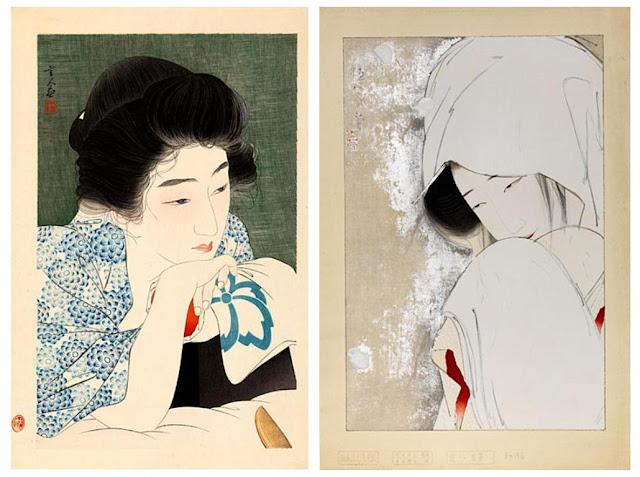 Torii Kotondo (1900-1976) e Kitano Tsunetomi (1880-1947)