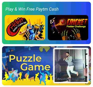CrickMania play games and earn Paytm cash