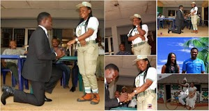 Nigerian Man who proposed to girlfriend during NYSC POP set to wed her (Photos)