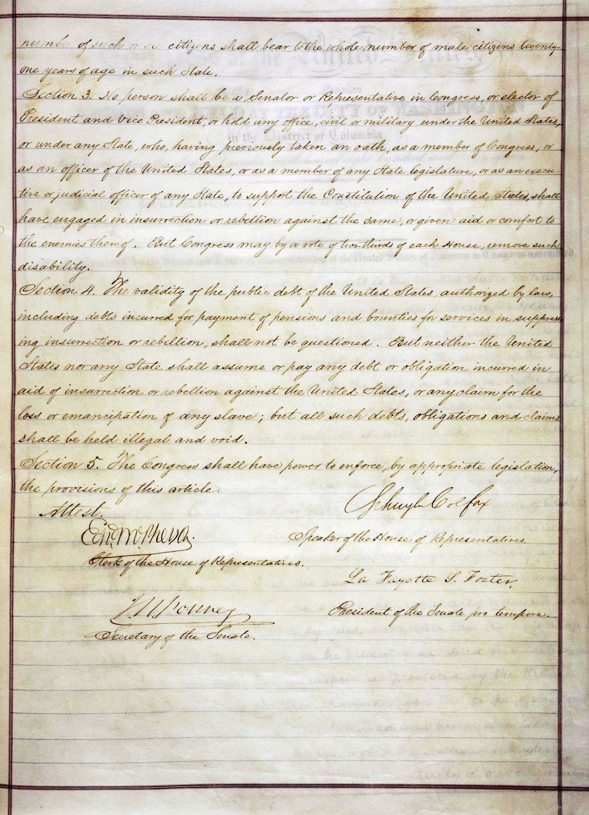 An analysis of the fourteenth amendment of the united states constitution