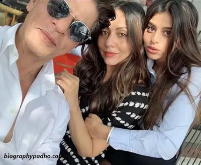 Shahrukh Khan wife Gauri Khan, Shahrukh Khan Family photo